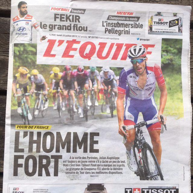 Stelletje chauvinisten, die Fransen!!!